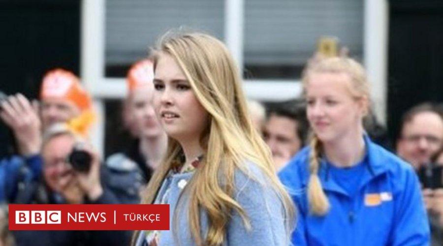 Hollanda'da Prenses Amalia bir kadınla evlenirse tahttan feragat etmey