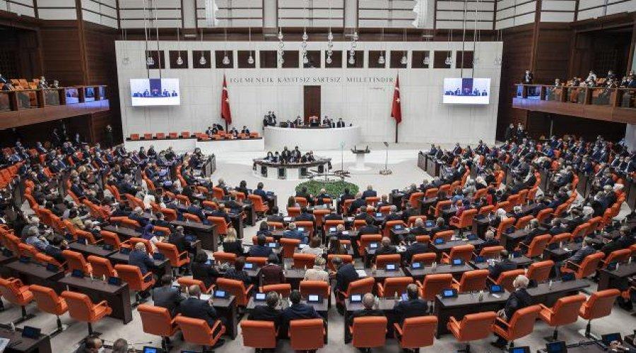 Vergi kanunları teklifi Meclis'te