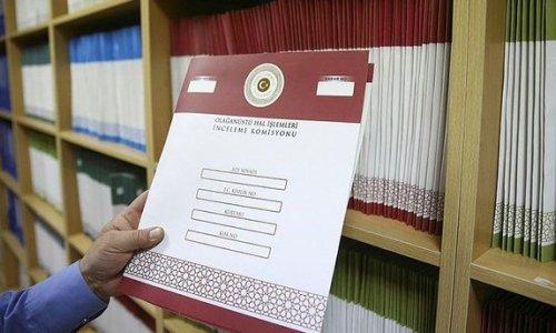 OHAL İşlemleri İnceleme Komisyonu, başvuruların yaklaşık yüzde 93'ünü sonuçlandırdı