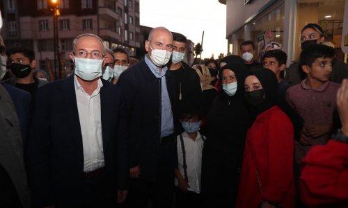 İçişleri Bakanı SOYLU ve Ağrı İl Başkanı ÖZYOLCU, Patnos'a Ziyaret Gerçekleştirdi