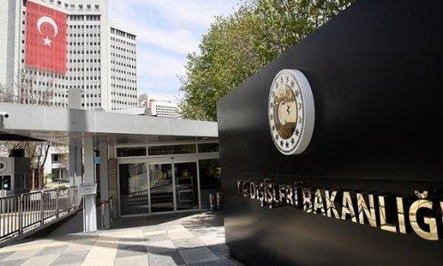 Dışişleri Bakanlığı'ndan, Avrupa Komisyonu Türkiye Raporu'na ilişkin açıklama