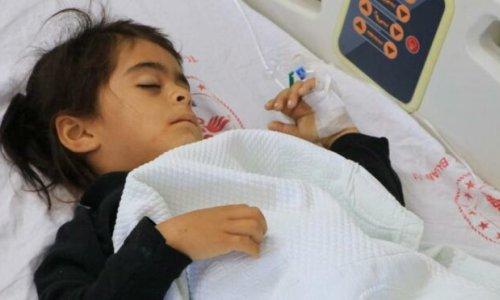 Zırhlı aracın altında kalan 5 yaşındaki Nure ölümden döndü