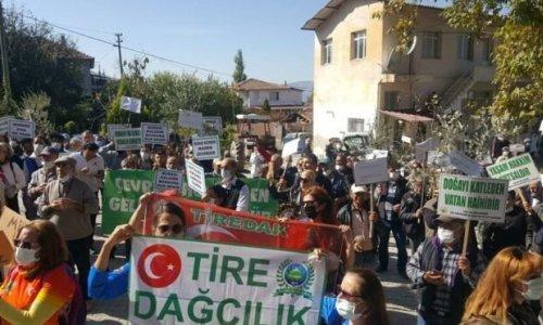 Maden ocağına karşı çıkan köylüler, halkın katılım toplantısını yaptırmadı
