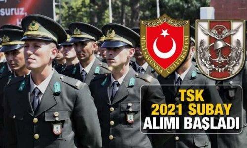 Türk Silahlı Kuvvetleri 2021 subay alımı başladı! MSÜ subay alımı başvuru ekranı ve kılavuzu